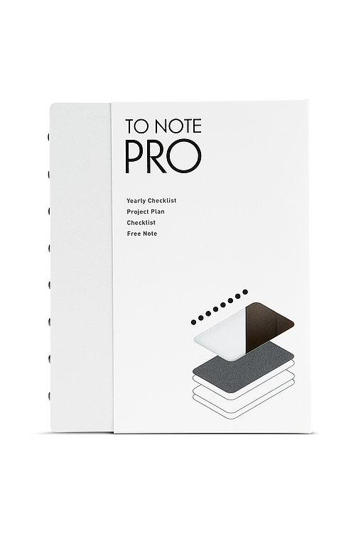 TO NOTE PRO Mushroom Hole Notebook | Red Dot Design Award
