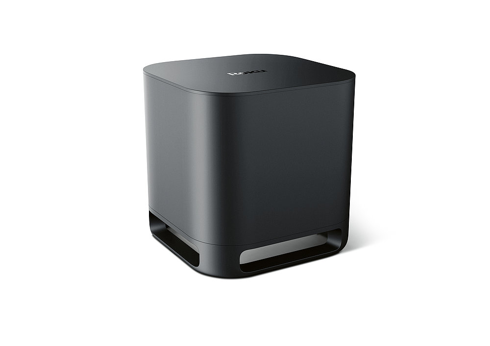 Roku Wireless Subwoofer | Red Dot Design Award