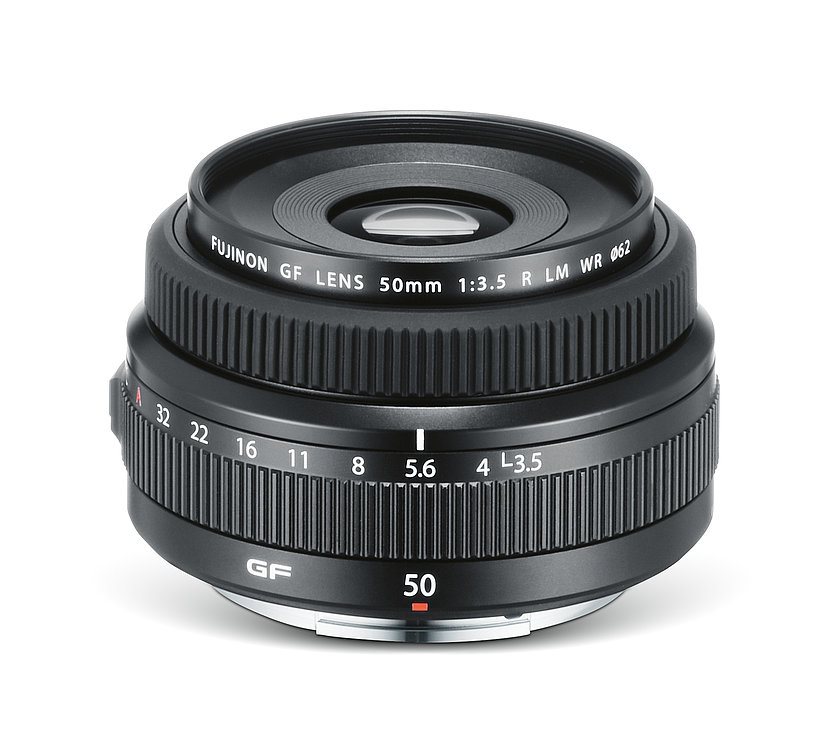 FUJINON LENS GF 50 mm F3.5 R WR | Red Dot Design Award