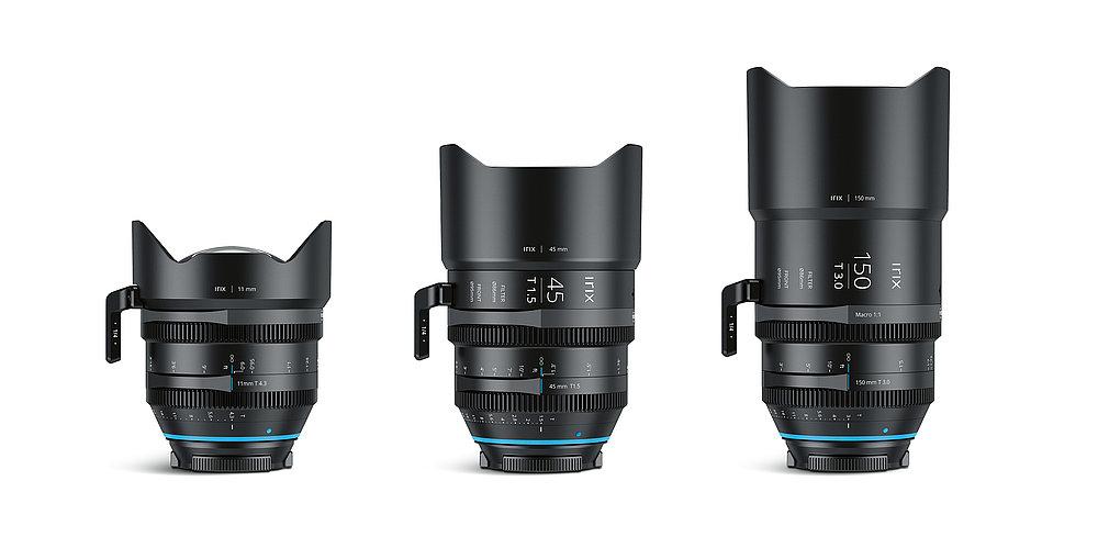 Irix Cine lens line-up | Red Dot Design Award