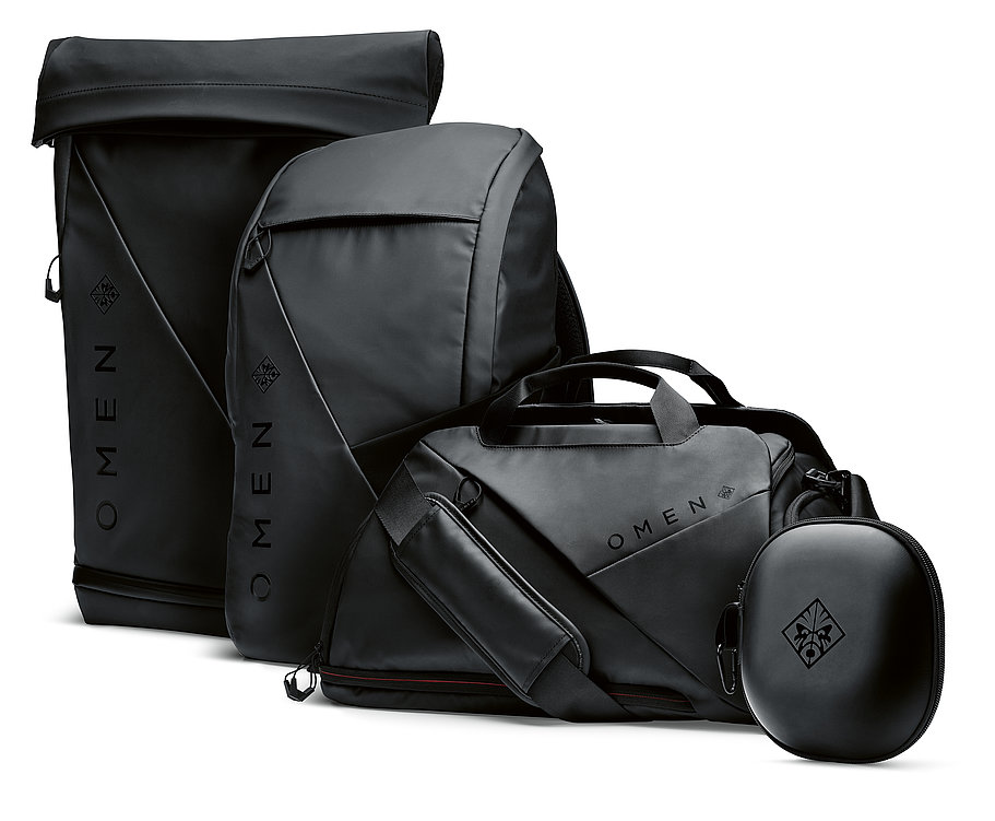 HP OMEN Transceptor Bags | Red Dot Design Award