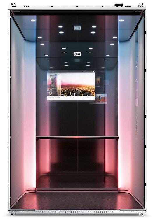 KONE DX Class Digital Experience Elevator | Red Dot Design Award